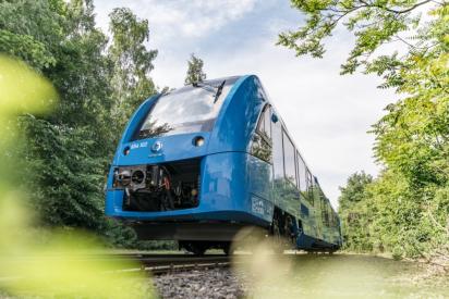 Coradia iLint – první vodíkový vlak v pravidelném provozu