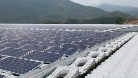Plovoucí fotovoltaiky BASF
