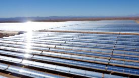 Pouštní solární elektrárna BASF