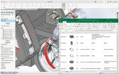 Tvorba sestavy a detekce kolizí, SolidWorks