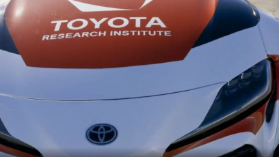 Testovací vůz Toyota Research Institute