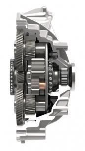 Elektrické pohony náprav od společnosti Schaeffler bodují svým kompaktním konstrukčním provedením.