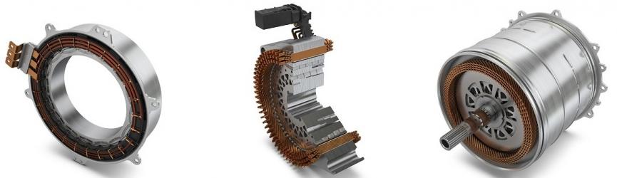 Široké spektrum použití od 20 kW do více než 300 kW: Elektromotory od společnosti Schaeffler pro hybridní moduly, hybridní převodovky i čistě elektrické pohony náprav.