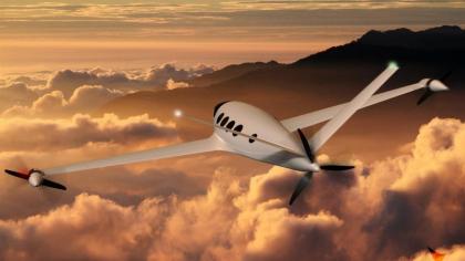 Elektrické letadlo Alice