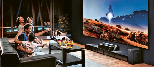 Laserové televizory s technologií TriChroma zvládnou jako první pokrýt barevný prostor standardu BT2020 a zobrazit přibližně 90 % barev viditelných lidským okem