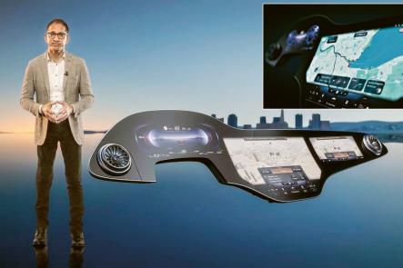 Mercedes Benz – Hyperscreen MBUX