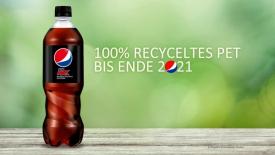 PepsiCo Deutschland bude používat pouze 100% recyklát /Zdroj: www.packaging-360.com/