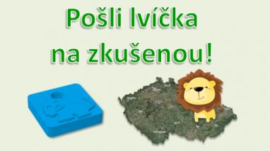 """Lvíčci z 3D tiskárny vyrazí z Fakulty elektrotechnické ČVUT """"na zkušenou"""" po keškách celého Česka"""