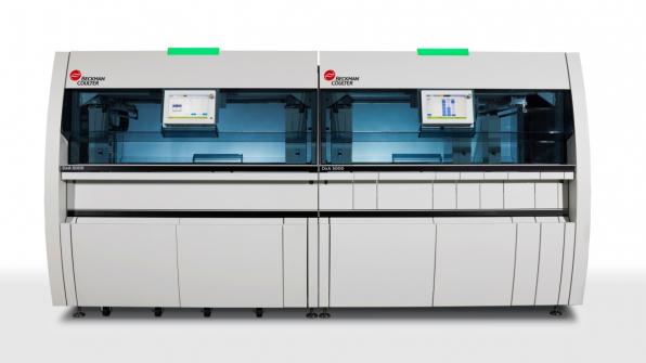 Plně automatizovaný laboratorní systém DxA 5000 instalovaný v laboratoři PREVEDIG medical. /Zdroj: Beckman Coulter/