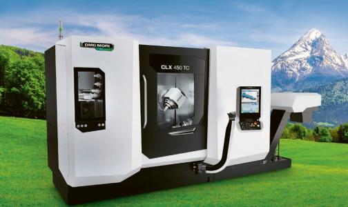 Obr. 3: Soustružnicko-frézovací centrum CLX 450 TC