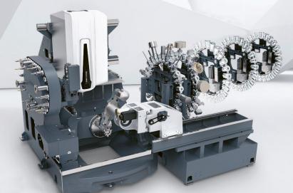 Obr. 5: Automatický systém manipulace s obrobky PH Wheel