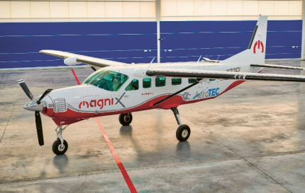 Elektrické letadlo Cessna Grand Caravan firmy MagniX