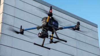 Využití dronů pro videopřenos v reálném čase ušetří čas i peníze. (zdroj: Ericsson)