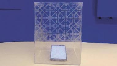 Nový tisknutelný inkoust je vodivý, průhledný a blokuje rádiové vlny