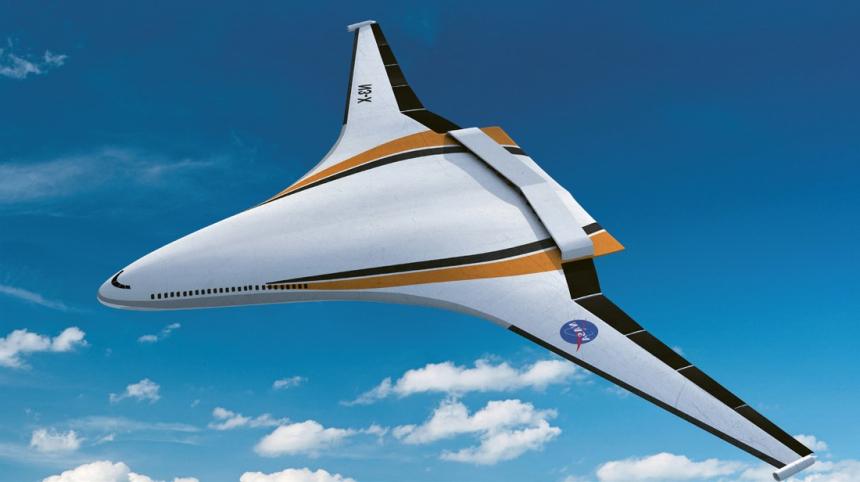 NASA pracuje na nové technologii pro elektrický letoun budoucí generace N3-X s hybridním křídlem