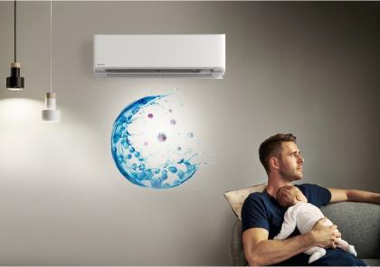 Klimatizace Panasonic Etherea v interiéru