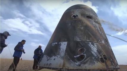 Nová, zatím bezejmenná, vícenásobně použitelná čínská kosmická loď /FOTO CMSA/