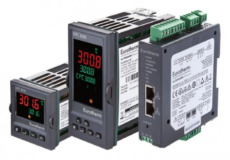 Obr. 2: Teplotní regulátory řady EPC3000