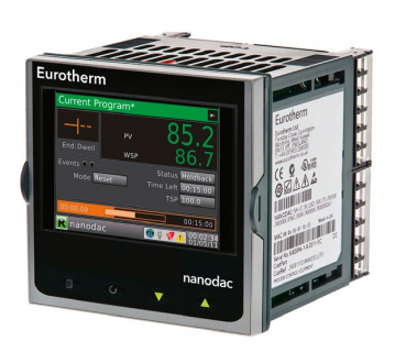 Obr. 3: Eurotherm nanodac