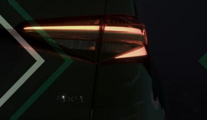 Video ukazuje první detaily přepracovaného modelu ŠKODA KODIAQ