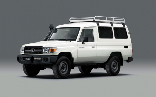 Základem vozidla je offroad Toyota Land Cruiser 78 vybavený vakcínovou chladničkou