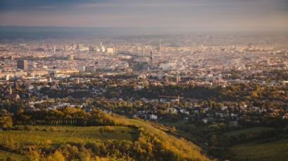 Panorama Vídně © Mike Clegg - Pixabay
