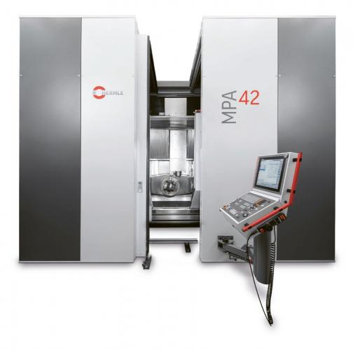 Stroj MPA 42 kombinuje aditivní nanášení materiálu s vysoce přesným třískovým obráběním