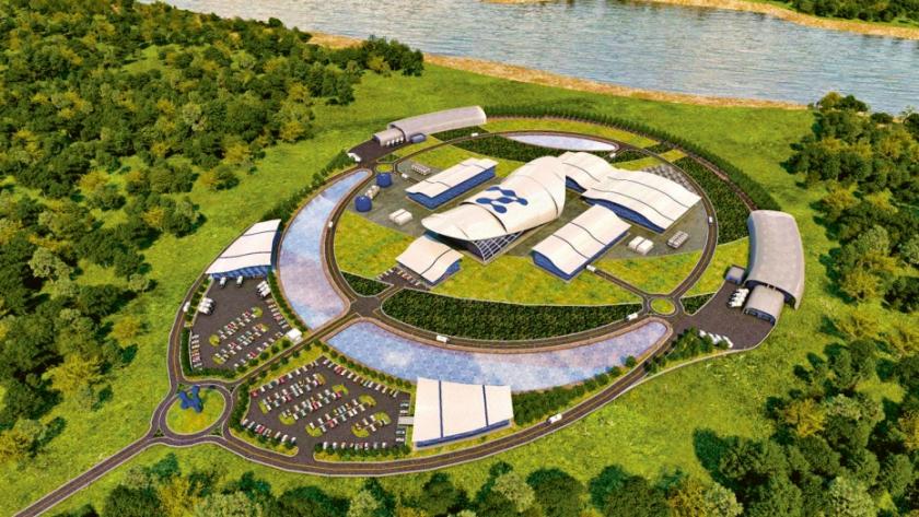 Možná podoba jaderné elektrárny s několika modulárními malými reaktory
