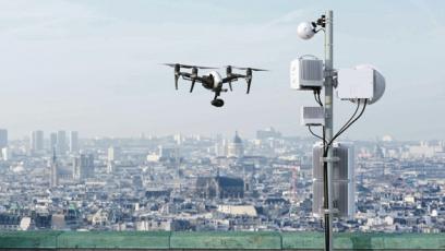 Zavedení dronů a technologie LIDAR má potenciál výrazně zvýšit efektivitu procesu plánování a díky tomu urychlit budování sítí v městských i venkovských oblastech (zdroj: Ericsson)