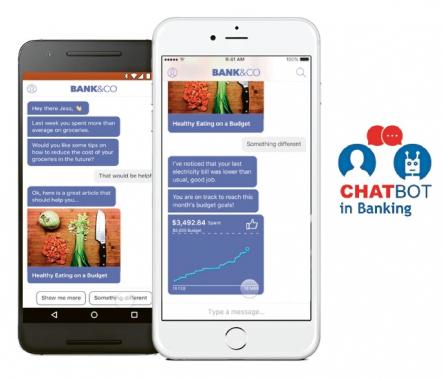 Chatbot v bankovním sektoru