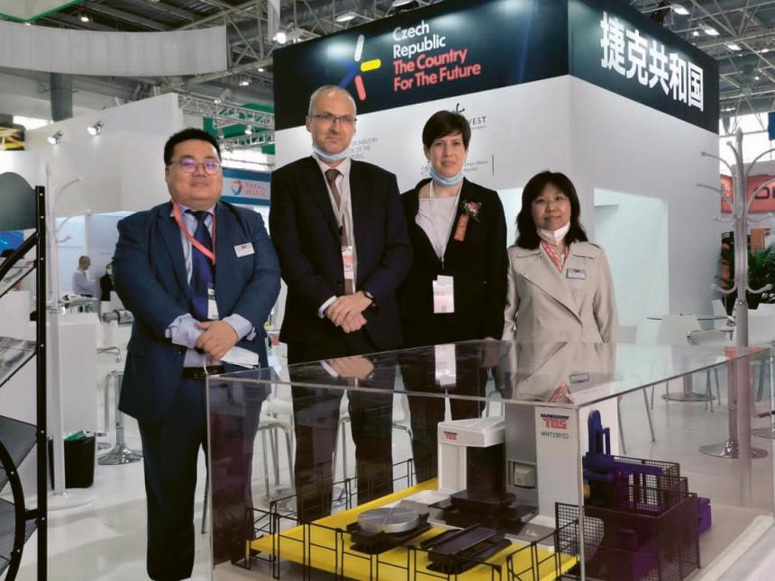 Expozice České republiky na veletrhu CIMT Peking 2021