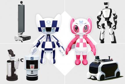Roboti pro Olympijské hry v Tokiu