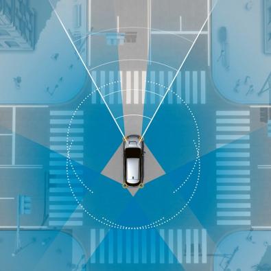 V Japonsku je EyeSight doplněn ještě dvojicí radarů umístěných v rozích předního nárazníku, systém jako celek monitoruje okolí vozu v rozsahu 360°