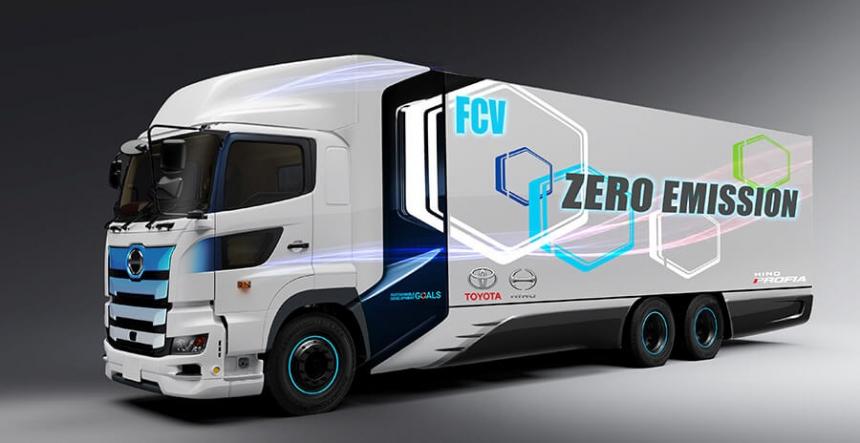Nákladní vozidlo na palivové články Zero Emissions Truck