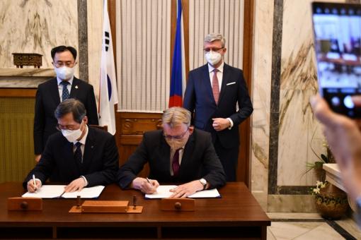 Podpis memoranda Aliance české energetiky