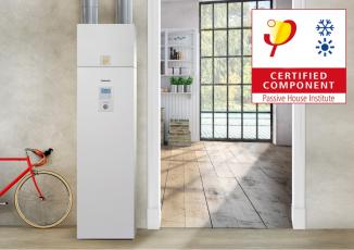Tepelná čerpadla Panasonic Aquarea obdržela certifikaci Passive House Component