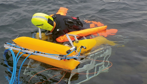 Nejvhodnější konstrukci záchranného robotu (IOSB) ověří až řada dalších testů