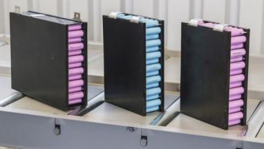 Bateriové moduly /Zdroj: EVC Group/ Ilustrační obrázek