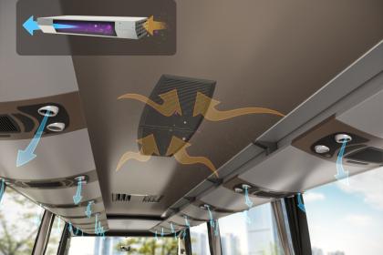 Valeo vybavuje 250 autobusů zajišťujících svozovou dopravu svých zaměstnanců po celém světě technologií proti Covid-19. Týká se to i tuzemských závodů Valeo v Rakovníku, Humpolci a v Žebráku