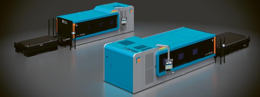 Laser Genius+ 1530 a 2040 – stroj má inovativní reversibilní uspořádání