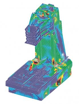 Kovosvit MAS — MKP model vertikálního centra MCV 1000