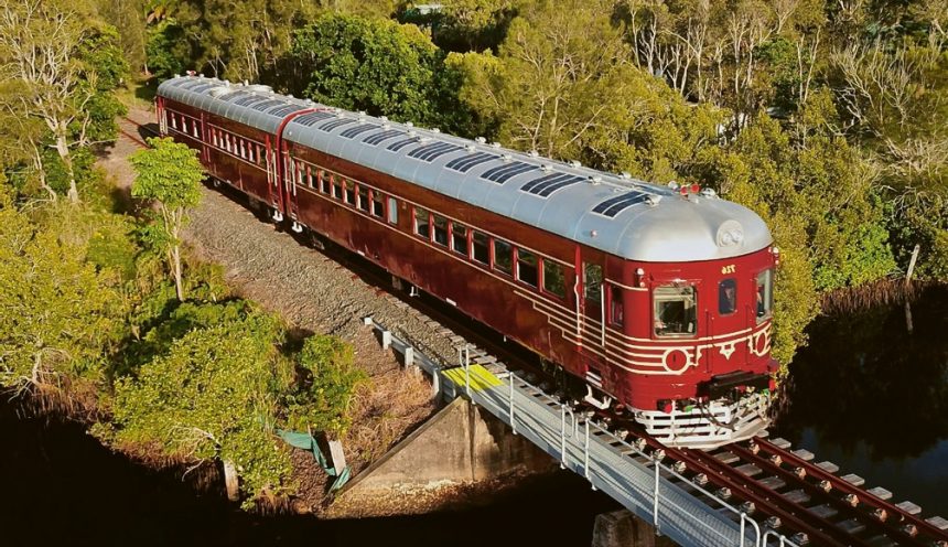 Sluneční vlak v Byron Bay