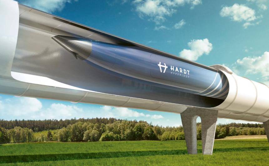 Hardt Hyperloop slibuje první linku už na rok 2028