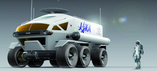 Ze studie japonského měsíčního roveru