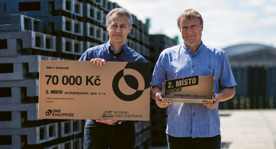 Jednatelé společnosti Patrik Luxemburk a Jan Suchopár