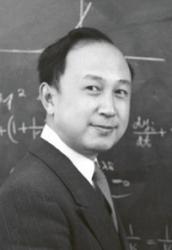 Mladý Čchien Süe-sen na Caltechu