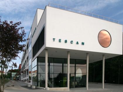 Brněnská centrála TESCAN ORSAY HOLDINGu