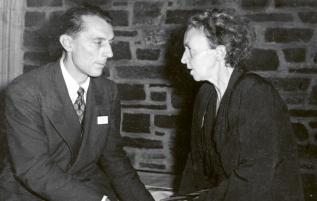 Manželé Frédéric a Irène Joliot-Curie /Foto: Wikimedia/