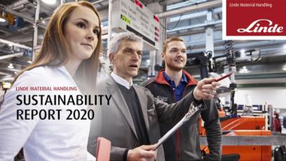 Linde Material Handling zveřejnila zprávu o udržitelnosti za rok 2020