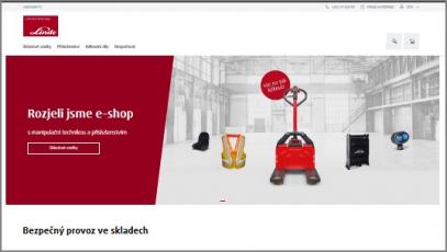 Linde Material Handling otevírá e-shop